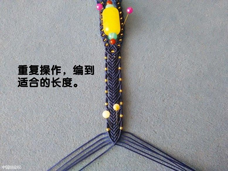 中国结论坛 花式桶珠手绳  图文教程区 110132vh9hohzpmxh5hp59