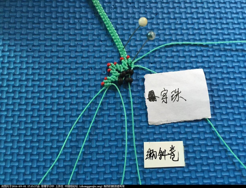 中国结论坛 【开心果结缘庄】macrame一片雪花的手链教程 开心果,雪花 图文教程区 170836pep6l6dm5o5dlz3l