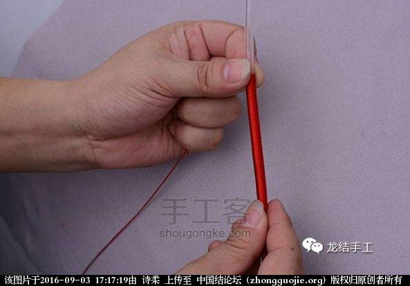 中国结论坛 绕线教程-及长绕线收尾方法教程 教程,绕线收尾方法图解,金线绕线收尾视频,编绳绕线方法图解,绕线打结方法图解 图文教程区 171156za6h83ahc3jfc8y7