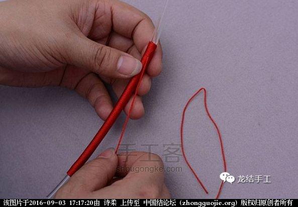 中国结论坛 绕线教程-及长绕线收尾方法教程 教程,绕线收尾方法图解,金线绕线收尾视频,编绳绕线方法图解,绕线打结方法图解 图文教程区 171200bu0kva8202ug0uu0