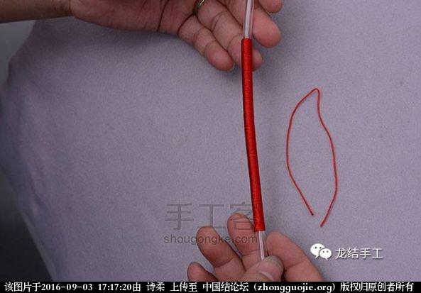 中国结论坛 绕线教程-及长绕线收尾方法教程 教程,绕线收尾方法图解,金线绕线收尾视频,编绳绕线方法图解,绕线打结方法图解 图文教程区 171200dglpgn55ttqhb6eb