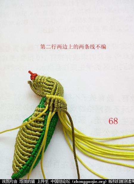 中国结论坛 蝈蝈的编法  立体绳结教程与交流区 160436tiupz1pglp68zgm4
