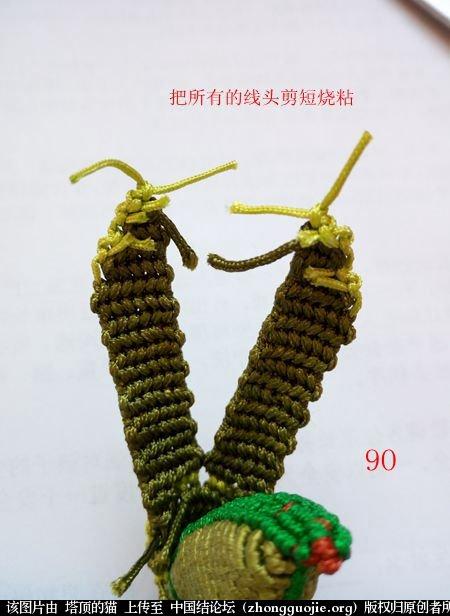 中国结论坛 蝈蝈的编法  立体绳结教程与交流区 161621e9iicehnre3qi8i8