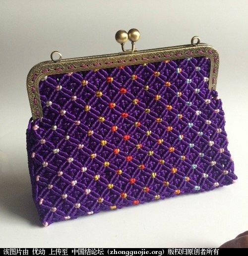 中国结论坛 看结友的包包很漂亮,也做了一个!  作品展示 062613ya4ns42v2knnn2k5