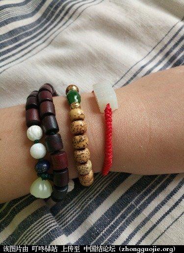 中国结论坛 送给自己的红绳手链  作品展示 134818mzz70yy7ryfs7k82