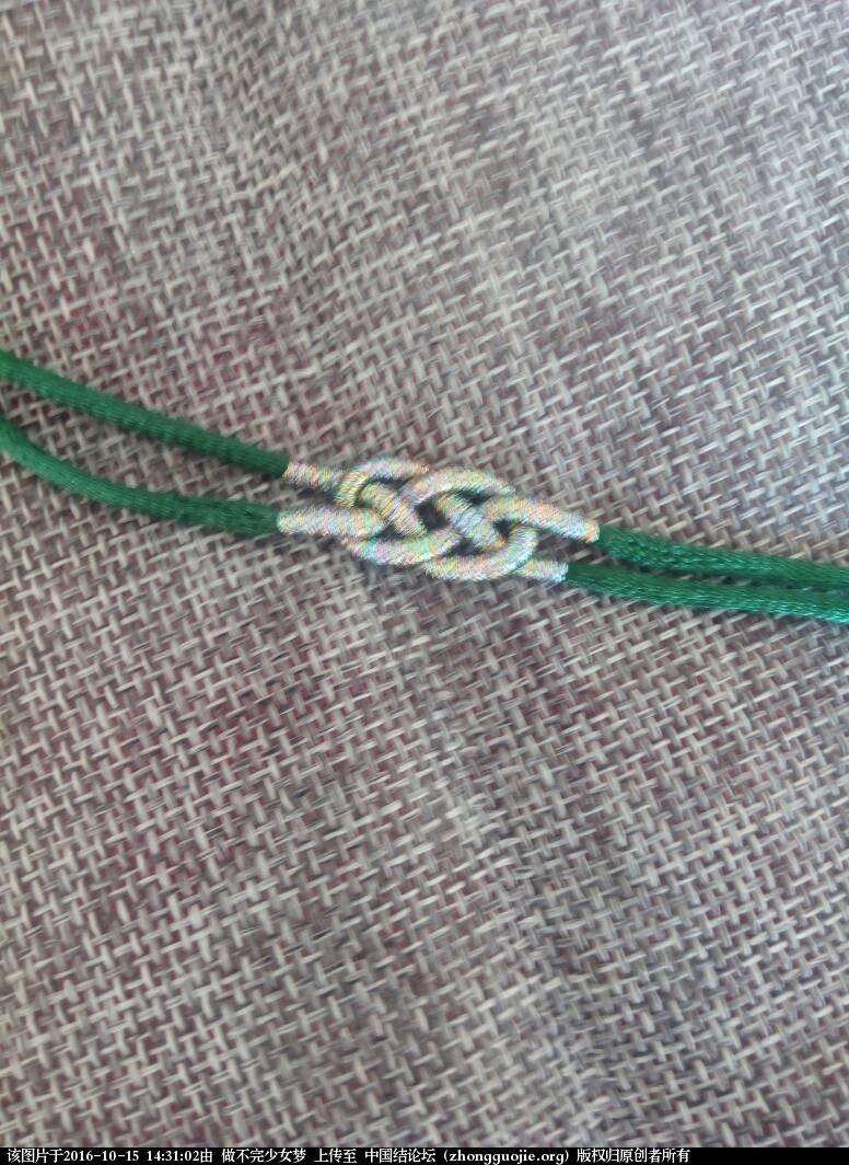 中国结论坛 绕线手链 手链,手链怎么绕金丝线,长手链的正确绕法,长绕线的编法图解 图文教程区 143102g8cmr7m77zmsccfr