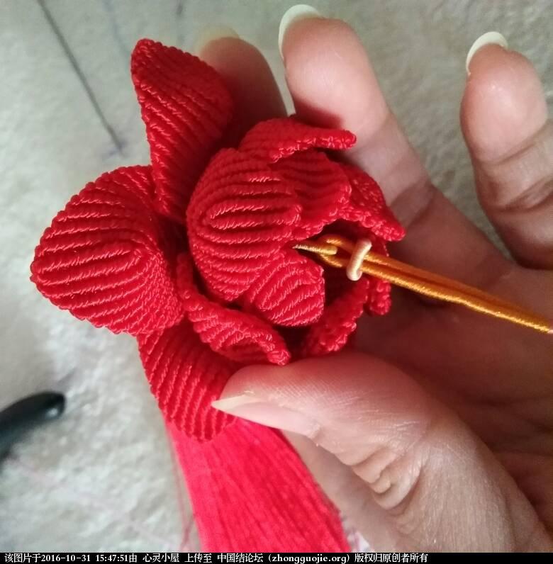 中国结论坛 莲花车挂的挂绳简易过程 风之歌,第一个,效果,部分,三个 图文教程区 154750abyf25ufuzsvv5uf