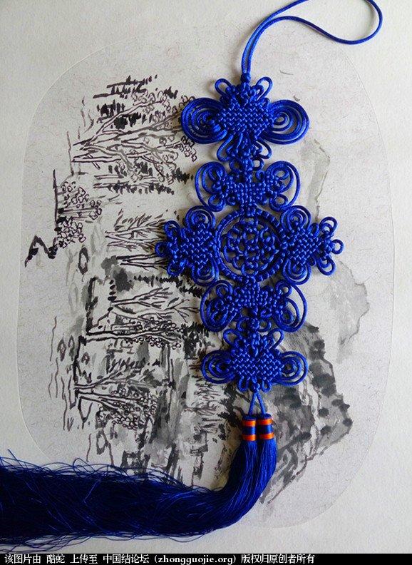 中国结论坛 酷蛇:学中国结以来的作品展示  作品展示 131322mf11izjmiqkbki2b