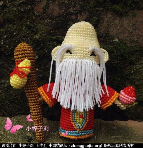 中国结论坛 【原创】长寿之神  寿星  立体绳结教程与交流区 201943a9soj95b59z1jhxh