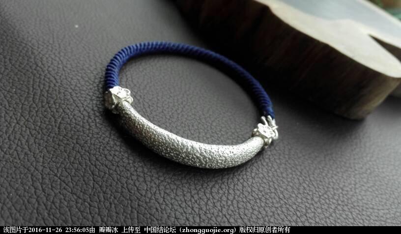 中国结论坛 泰国蜡线手绳  作品展示 235605jo3tzps1poppp47s