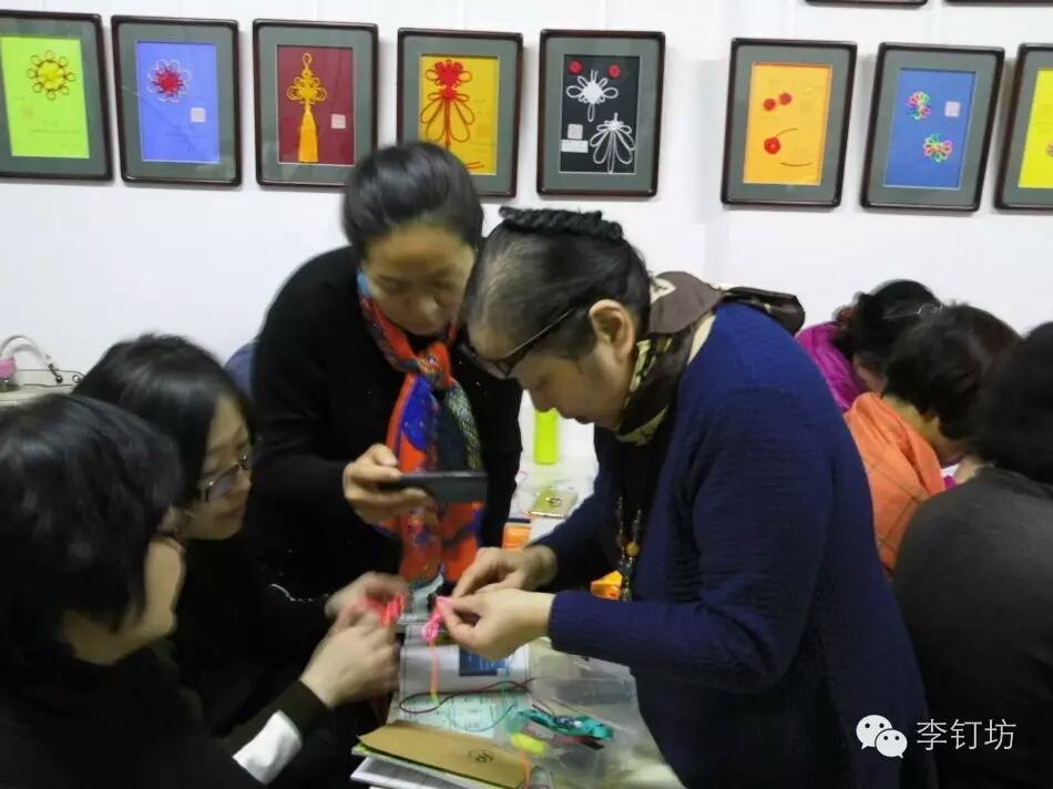 中国结论坛 《中国绳结艺术》第二册第一期师资班开学记实 西城区,中国,北京,艺术,中学 中国结文化 084957rr0w07e1gkpp9ki4