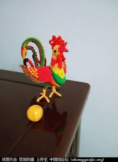 中国结论坛 公鸡中的战斗鸡  立体绳结教程与交流区 124154vnsfl9x0ch3wwcs5