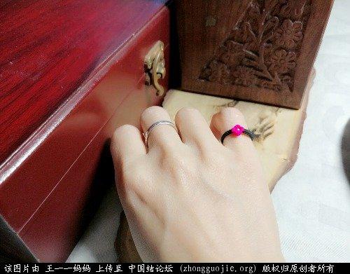 中国结论坛 桃花戒指  作品展示 223825v110bj0xb81re5m8