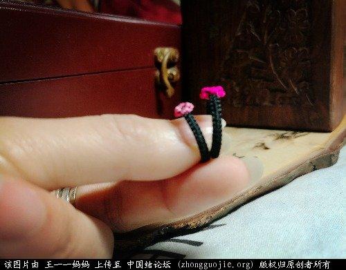 中国结论坛 桃花戒指  作品展示 223942i003gqj0rm163g9z