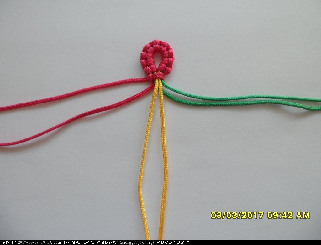 中国结论坛 简单的新款三色串珠手绳 —— 斜卷结练习 串珠,新款 图文教程区 190212htlz5n7yl65522pu