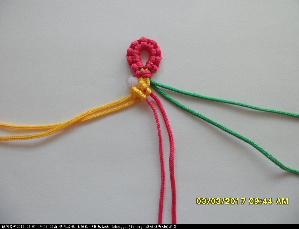 中国结论坛 简单的新款三色串珠手绳 —— 斜卷结练习 串珠,新款 图文教程区 190541vbtz3lo3lb3oxolh