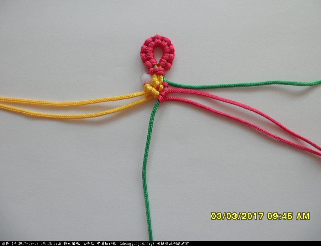 中国结论坛 简单的新款三色串珠手绳 —— 斜卷结练习 串珠,新款 图文教程区 190846xd226283gi3uzxs6