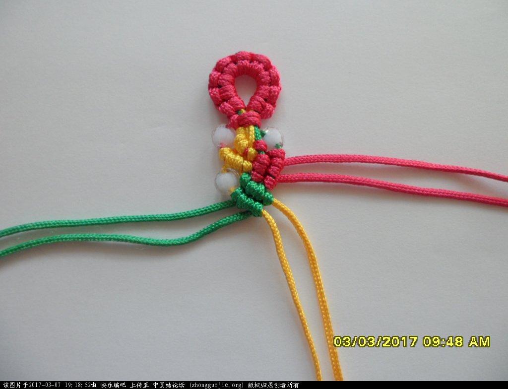 中国结论坛 简单的新款三色串珠手绳 —— 斜卷结练习 串珠,新款 图文教程区 191248hlsnpl7lns1v201h