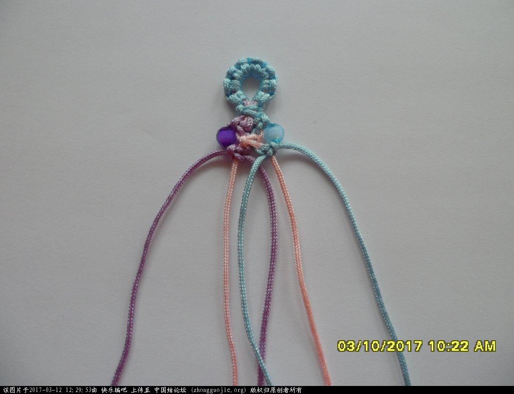 中国结论坛 简单的新款三色串珠手绳 —— 平结练习 串珠,新款 图文教程区 122107bv7jbrcvzepkjvkd