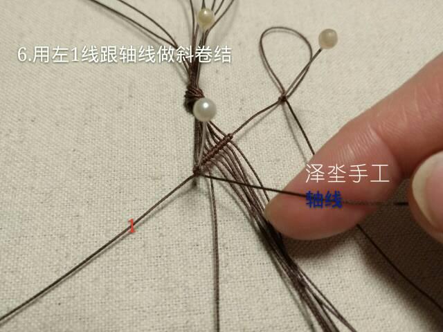 中国结论坛 经典蕾丝感颈链编织教程  图文教程区 110158yqssi651kilsrl3l