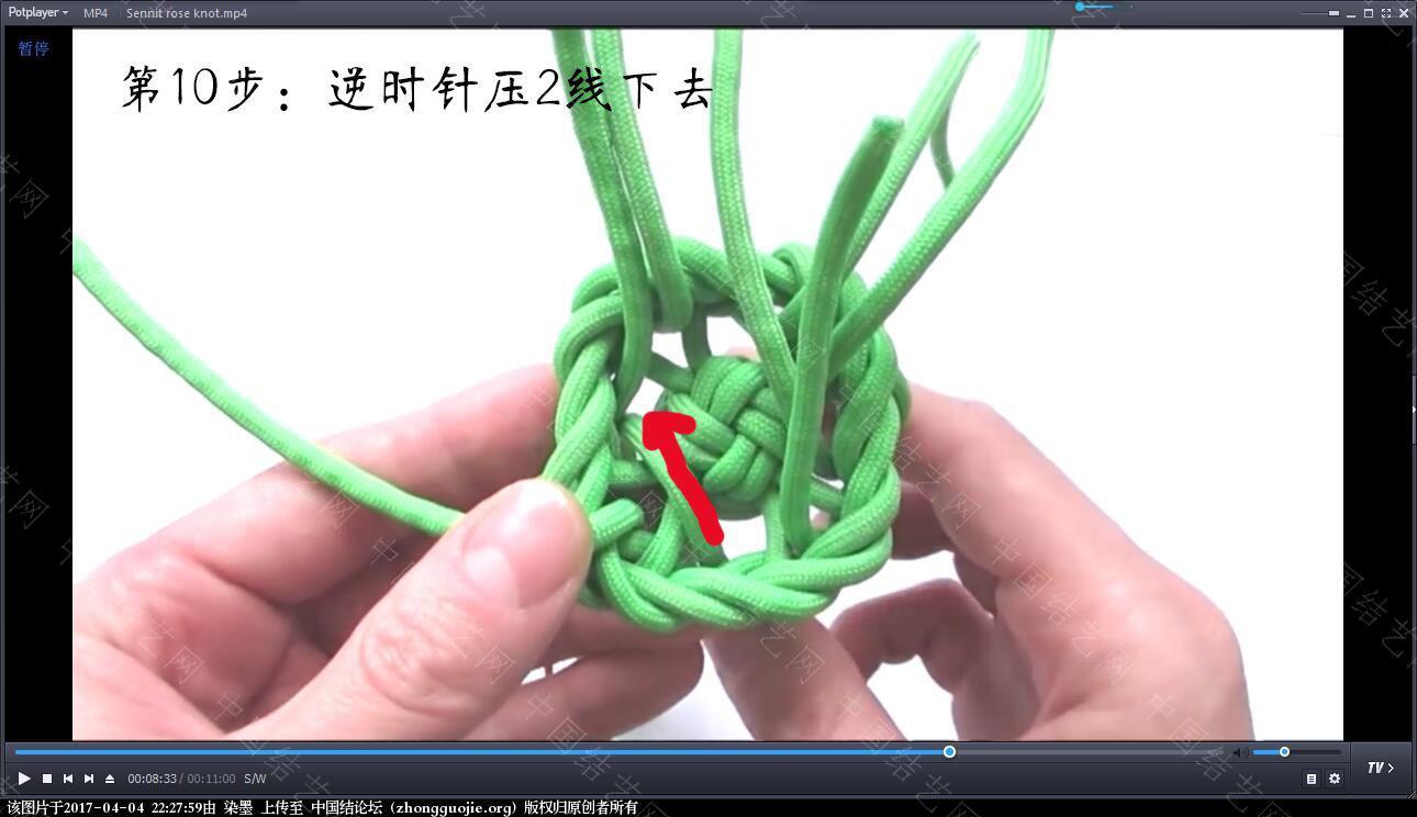 中国结论坛 伞绳吉祥玫瑰视频教程 玫瑰,伞绳,视频教程 视频教程区 222338l1s1o3q3oiqisoxy