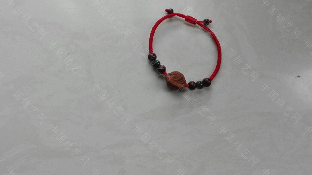 中国结论坛 本命年红绳手链  作品展示 221354ndjed1xxdx7k997m