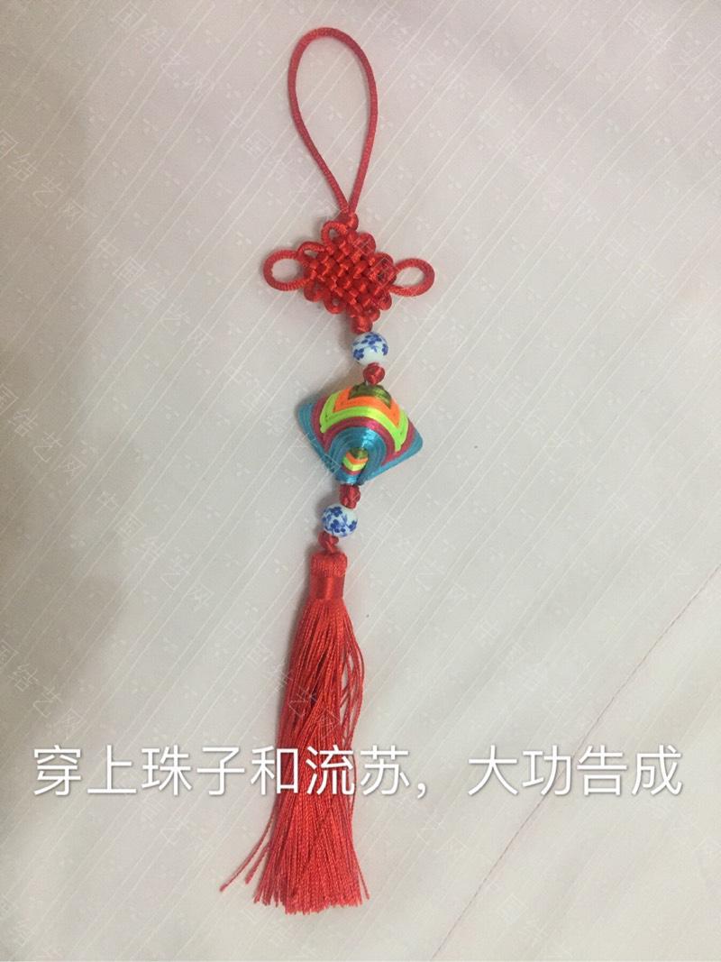 中国结论坛 彩线绕线中国结粽子教程  图文教程区 082624ztwufciu0arq4yaq
