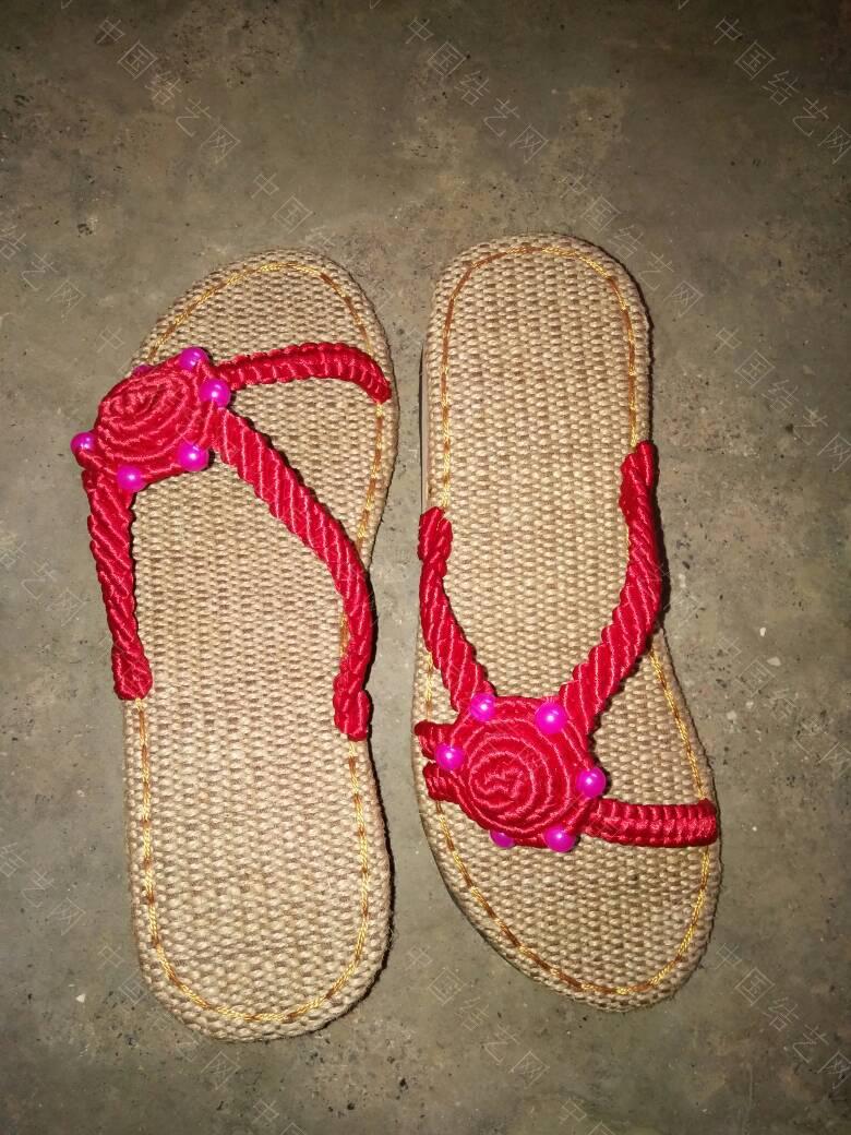 中国结论坛 我编小葵花带珠的凉鞋  作品展示 182032f000b78uwlh6j0sd