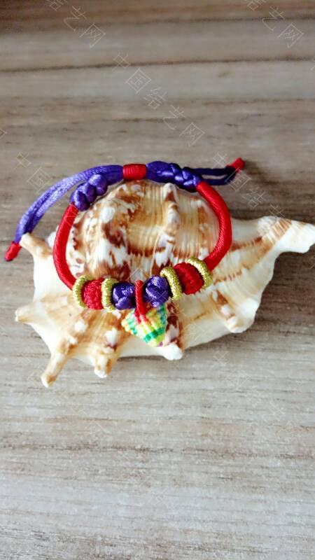 中国结论坛 快到端午节了,给宝贝们编了几条五彩手绳带,保佑孩子们平安  作品展示 173343axa5cq6a2l54zow5