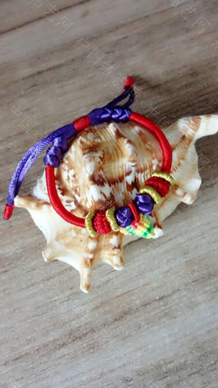 中国结论坛 快到端午节了,给宝贝们编了几条五彩手绳带,保佑孩子们平安  作品展示 173343k7zj4cq7qtztqtar