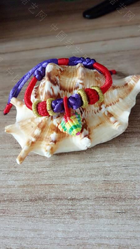 中国结论坛 快到端午节了,给宝贝们编了几条五彩手绳带,保佑孩子们平安  作品展示 173343xzadjls6s6djoxdk
