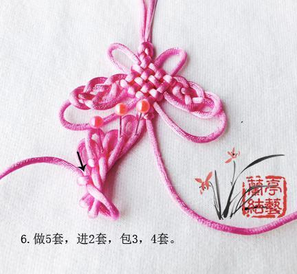 中国结论坛 包瓷片蝴蝶挂饰 蝴蝶 兰亭结艺 121602toe0na2hh2mi2amu