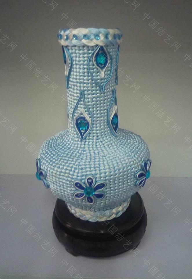 中国结论坛 改进的花瓶  立体绳结教程与交流区 172804io461xob6baxmjnj