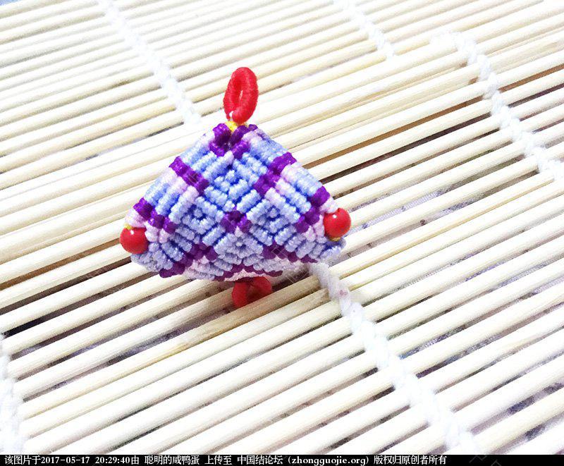 中国结论坛 这回我认真仔细的做了一个花朵粽子的教程  图文教程区 202933ztfvvagq26kqm5fv