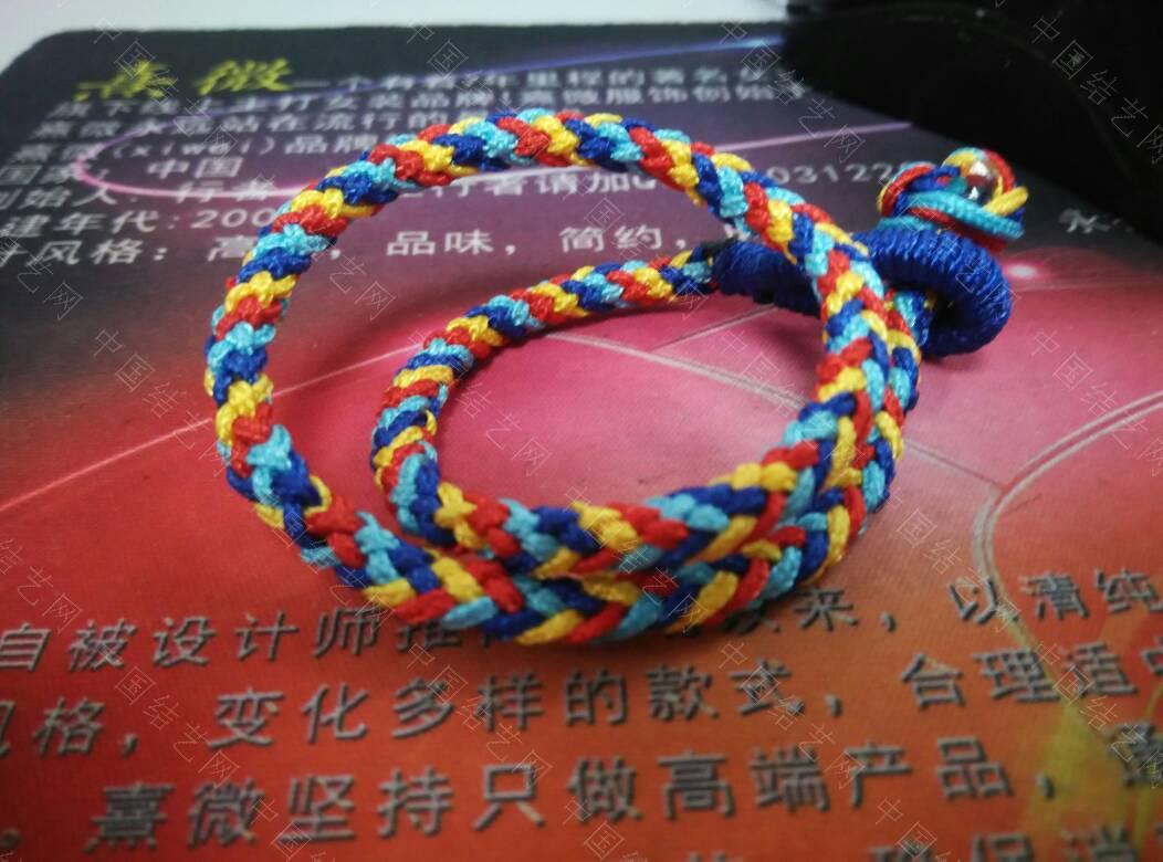 中国结论坛 8股圆辫  作品展示 090030l5b588b3qt9ftsht