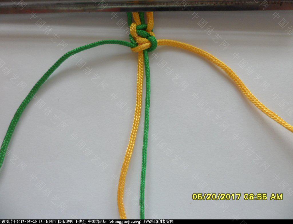 中国结论坛 双色平结手绳  ——  平结还可以这样编  (1)  图文教程区 153115akvptpftcpjfwmso