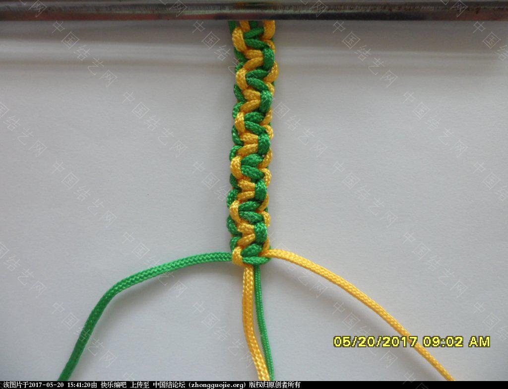 中国结论坛 双色平结手绳  ——  平结还可以这样编  (1)  图文教程区 153605rf71n2sa7odmzsu2