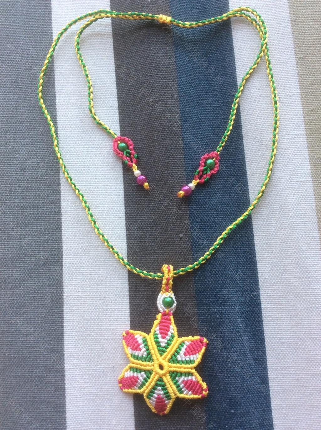 中国结论坛 非洲菊项链 非洲,项链 作品展示 141349g67dr5kti8k2i2i0