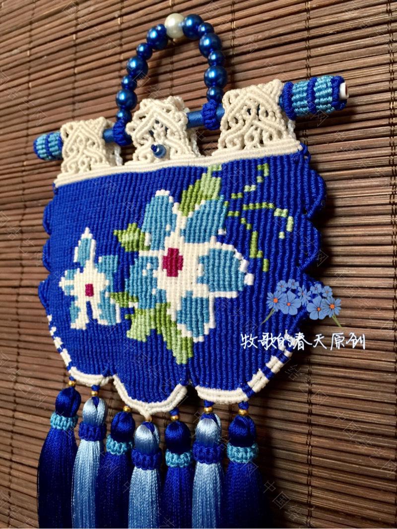 中国结论坛 原创双面荷包挂饰 幽蓝识香  作品展示 120634hwih0syrh2cdqiry