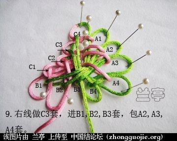中国结论坛 三宝结(中级)  兰亭结艺 130503nuz86u2h60l67vbf