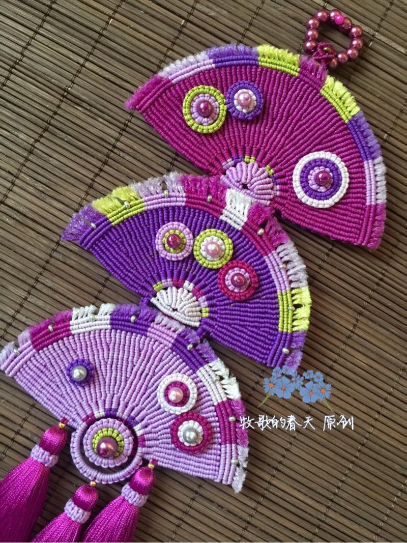 中国结论坛 原创挂饰 叠扇  作品展示 102536r528ckqb2ykyvc5d