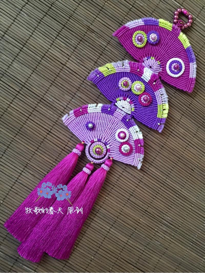 中国结论坛 原创挂饰 叠扇  作品展示 102538bclr6tl5tk91bn99