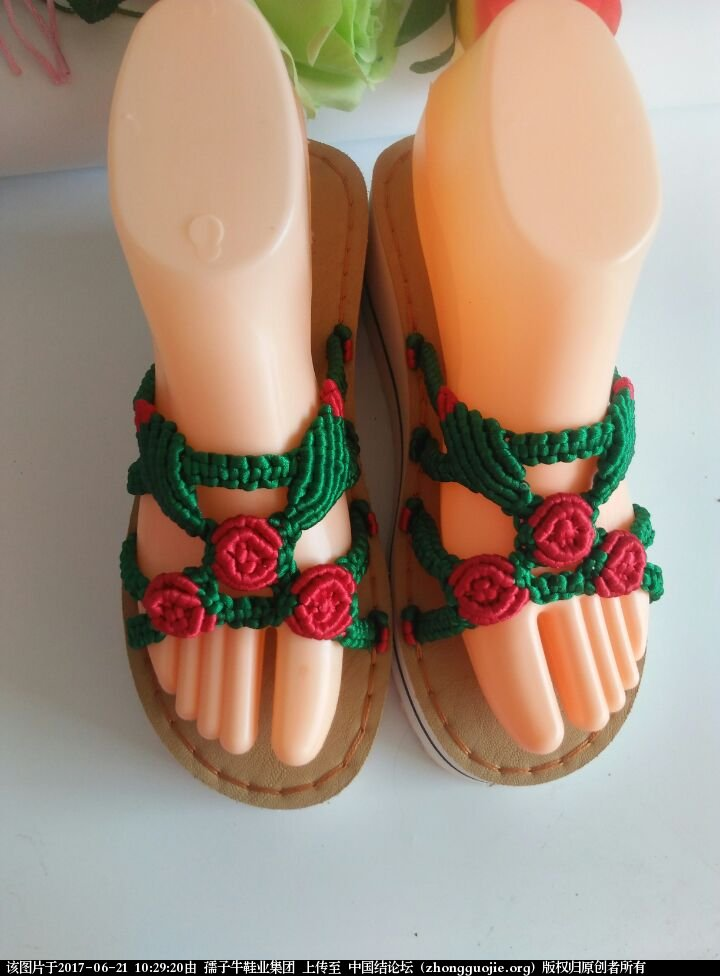 中国结论坛 孺子牛夏款凉鞋 手工DIY 孺子牛,凉鞋,手工 作品展示 102913dnd5ve6dvd6ddgeb