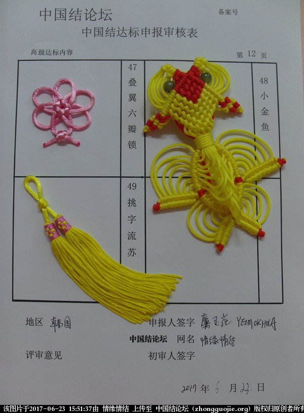中国结论坛 情缘情结高级达标申请稿件  中国绳结艺术分级达标审核 154904fngpzzlta38tzy6t