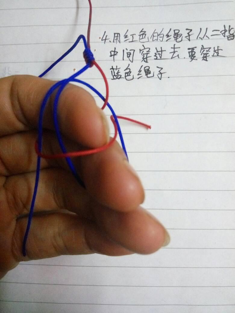 中国结论坛 金刚结教程,首次发教程,希望大家能看懂  基本结-新手入门必看 203208ba2y7j5jrr7py2yr