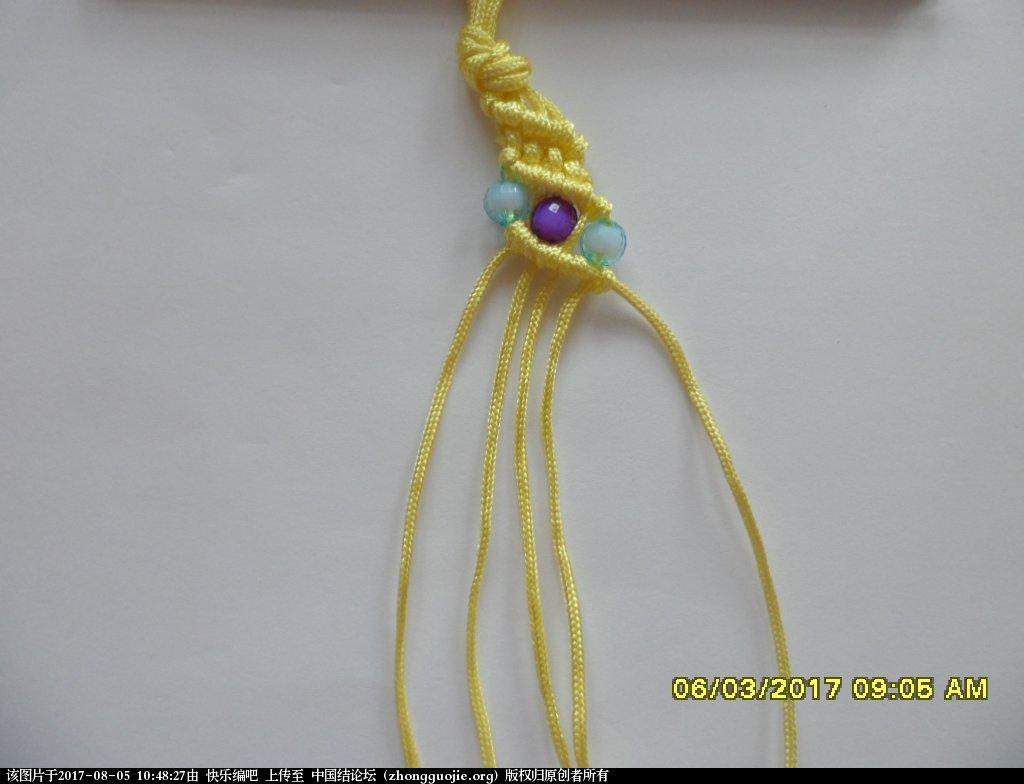 中国结论坛 更新版串珠手绳(2)  图文教程区 103933dvjl03juxaa3vu4h