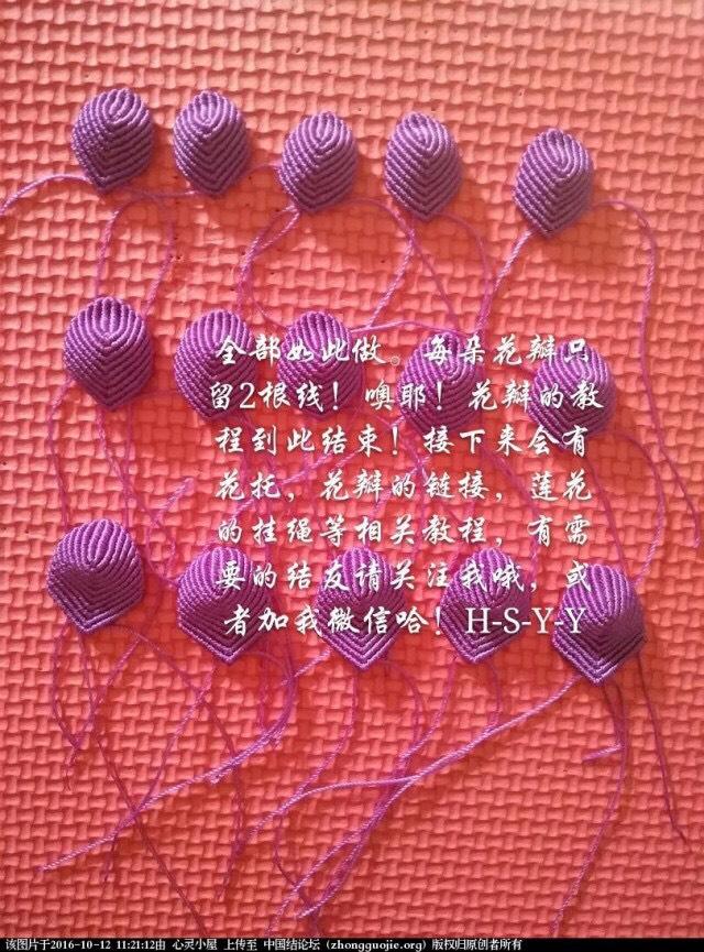 中国结论坛 花瓣的连接( 转载) 原作 心灵小屋  立体绳结教程与交流区 171111r44jylffi88frkfi