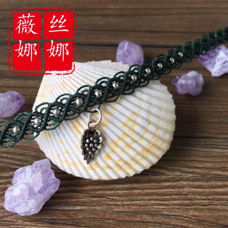 中国结论坛 仿的蕾丝感颈链  作品展示 105044j5axp4v5kn42xvrk