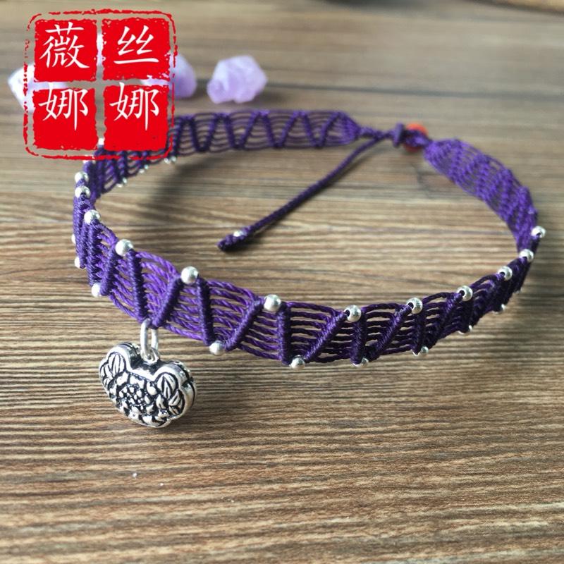 中国结论坛 仿的蕾丝感颈链  作品展示 105044u9pvkbk0biovg0vu