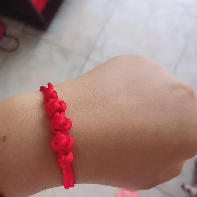 中国结论坛 仿了个红豆结手链  作品展示 132449bvzuevev5nm56fr9
